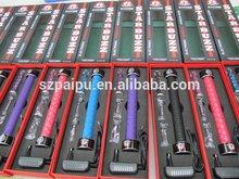 2014 top sigaretta elettronica di qualità starbuzz e tubo 5 diversi colori e- tubo