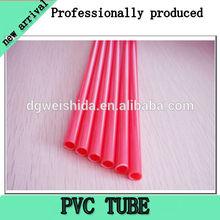 Black PVC lay flat hose food-grade used