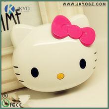 China Factory Cute Big Capacity External Battery 8000mah Hello Kitty Power Bank