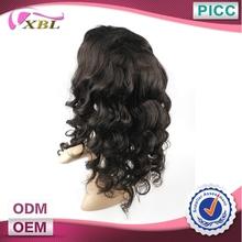 XBL Top Quality On Sale Virgin Brazilian Hair Half Wig