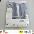 china proveedor de poliéster de impresión de oficina cortina de la ventana
