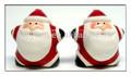 La decoración santa, lindo santa sp, de navidad de cerámica sp