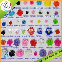 DIY resin flower bead or sticker pressed flowers jewelry