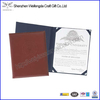 Cheap Promotional A4 Padded Folder For Certificate Holder