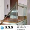 stainless glass balustrade