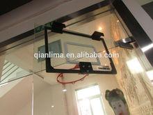 Eco-Composite Basketball Backboard and Rim Combo