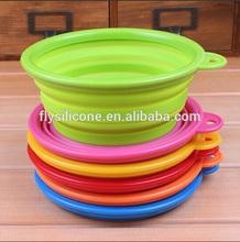 Wholesale FDA LFGB Standard Food grade Eco-friendly folding silicone wholesale pet supply from china