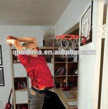 Pro Over The Door Breakaway Rim Basketball Hoop Set with Clear Shatterproof