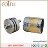 ss/brass/black/copper Jam/Tobh/stillare rda atomizer copper akuma mod