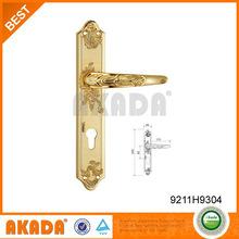 Nice design double sided door handle for exterior door