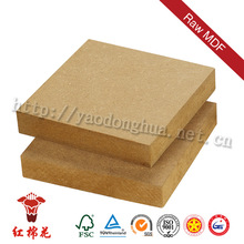 Decoration or furniture grade natural ash wood veneer mdf 18mm thickness