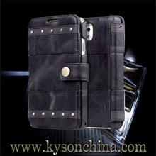 Hot sale real leather case for samsung galaxy note 3