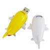 China cheap goods hot sell yellow cute usb 2.0 plane usb flash drive