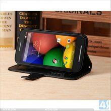 Wallet Leather Phone Case for Motorola MOTO E P-MOTXT1022PUCA004