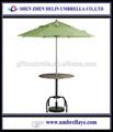 Todo tipo de muebles de jardín plegable sombrillas de playa, sombrilla al aire libre de la base