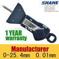5340# 25mm electrónico pantalla lcd digital medidor de profundidad de la banda de rodadura de los neumáticos de freno de calzado esterasdecoches esterasdecoches desgaste