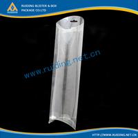 pvc box cosmetic pillow box case transparent plastic packaging boxes