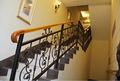 Interior escalera de hierro forjado/de hierro forjado escalera de caracol