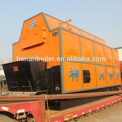 DZL lump coal burning/fired boiler steam boiler