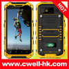 IP67 Grade 4.3 inch IPS screen quad core 1GB RAM rugged waterproof cell phone