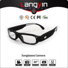 hd sunglass camera +8G memory, lenses can change for the short-sighted