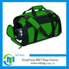 2014 wholesale Promotional Polyester sports bag with shoe compartment