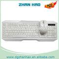 china alibaba 2014 promocional de color blanco de la computadora teclado y el ratón