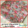 Custom Digital Printed Cotton Christmas Handkerchiefs