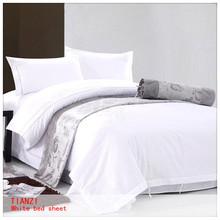 hotel bed sheet, solid color bed sheet, super single bed sheet