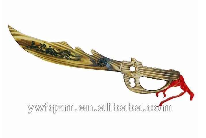 Chinesisch griff spielzeug aus holz samurai-schwert, cool schwert ...
