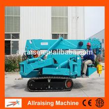 Manual Hydraulic Mobile Floor Crane, Small Mobile Crane with 1ton 2ton 3ton