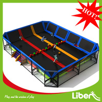 Made in China factory price large cheap square commercial trampoline for sale