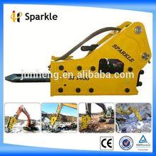 case 580m backhoe loader/Side Hydraulic Breaker for excavator