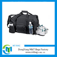 china wholesale promotional travel sports bags with water bottle holder