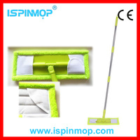 ISPINMOP walmart cleaning product microfiber folder flat mops cleaner as seen on tv