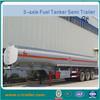 Chemical liquid tank semi-trailer