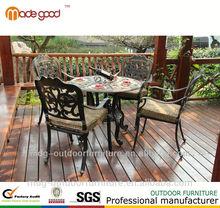 patio table legs cast iron