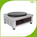 comercial de máquina de crepe açoinoxidável crepe pancake maker