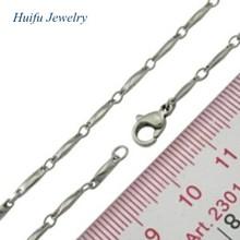 wholesale cheap women necklace plain chain