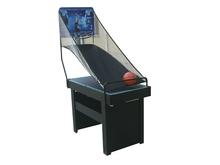 single player basketball game set