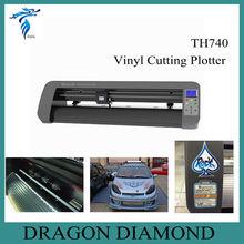 usb driver cutting plotter/vinyl plotter cutter price TH-740