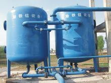 Manganese sand filter for water remove iron