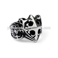 new design 316L stainless steel men's ring