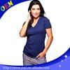 Bulk plain women v neck blank cotton t shirt manufacturers