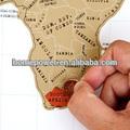 zero world map personalização mapa do mundo cartaz luckies riscar do mapa