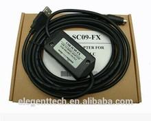 Mitsubishi SC09-FX MELSEC SC09 MITSUBISHI plc cable de programación