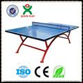طاولة تنس الطاولة في الهواء الطلق للماء/ طاولة تنس الطاولة أفضل تجار الصين/ qx-141g محمولة رخيصة طاولة بينغ بونغ