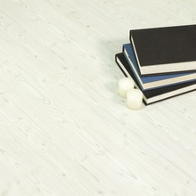 Haute qualité 10mm et 8mm ac3 blanc lavé pin. facile à nettoyer revêtement de sol stratifié
