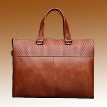 Latest Fashion Design high quality leather handbag man