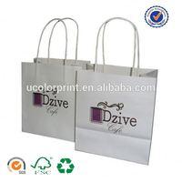 U color Customized sunflower paper bags